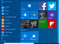 Windows 10 will continue to see overall improvements and polishing of the user interface including touch capabilities. For example, you can swip up on the left side of the Start menu to open All apps.