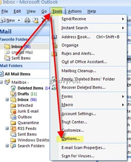 Disable microsoft outlook 2007 and 2003 email auto complete toolsoptions ccuart Choice Image