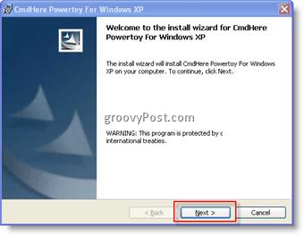 CMDHere Powertoy 1 :: groovypost.com