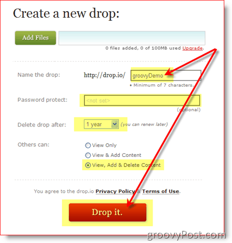 Easy Online File Storage :: groovyPost.com