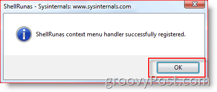 Add Run As Different User to Windows Explorer Context Menu for Vista and Server 2008 :: groovyPost.com