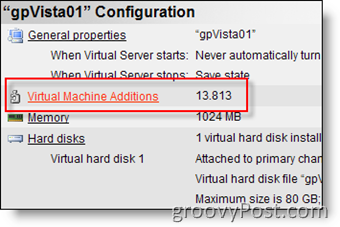 Install Virtual Machine Additions for MS Virtual Server 2005 R2
