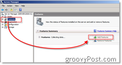 How-To Add features to Windows Server 2008