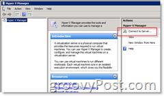 Remotely Manager Microsoft Windows Hyper-V Server
