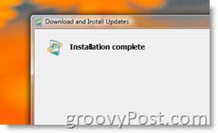 Install confirmation for Hyper-V Remote Management Update for Windows Vista x64 KB952627