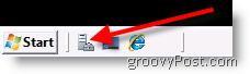 Launch Windows Server 2008 Server Manager