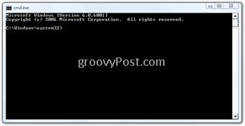 Windows Command Prompt Window