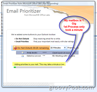 How-To organize your inbox with new Email Prioritizer Add-in for Microsoft Outlook :: groovyPost.com