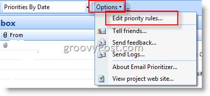 Microsoft Email Prioritizer :: groovyPost.com