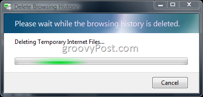This article will be my last article that focuses on Deleting the Internet Explorer  Create a Batch File to Delete IE7 Browser History and Temp Files
