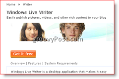 Windows Live Writer 2008 Download Page