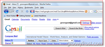 Configure GMAIL to forward iMAP to Outlook