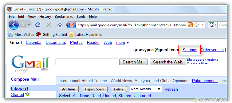 Forward Button in Gmail Configure Gmail to Forward