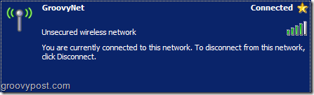 Wireless Network Connection Successfully Connected :: groovyPost.com