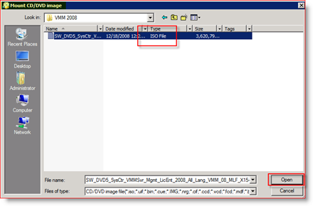 MagicISO Mount ISO in Virtual Drive for Windows Server 2008