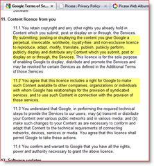 Google Terms of Service LICENSE give away privacy AND the FARM :: groovyPost.com