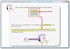 Canvas for OneNote Installer