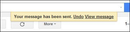how to cancel a message sent on gmail
