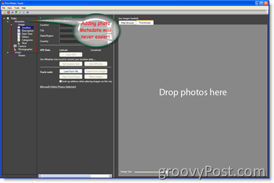 Microsoft Pro Photo Tools Metadata :: groovyPost.com