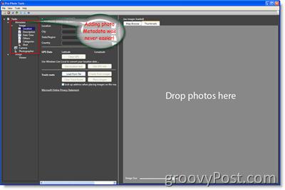 Microsoft Pro Photo Tools Metadata :: groovyPost.com