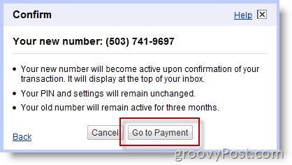 how to choose a google voice number