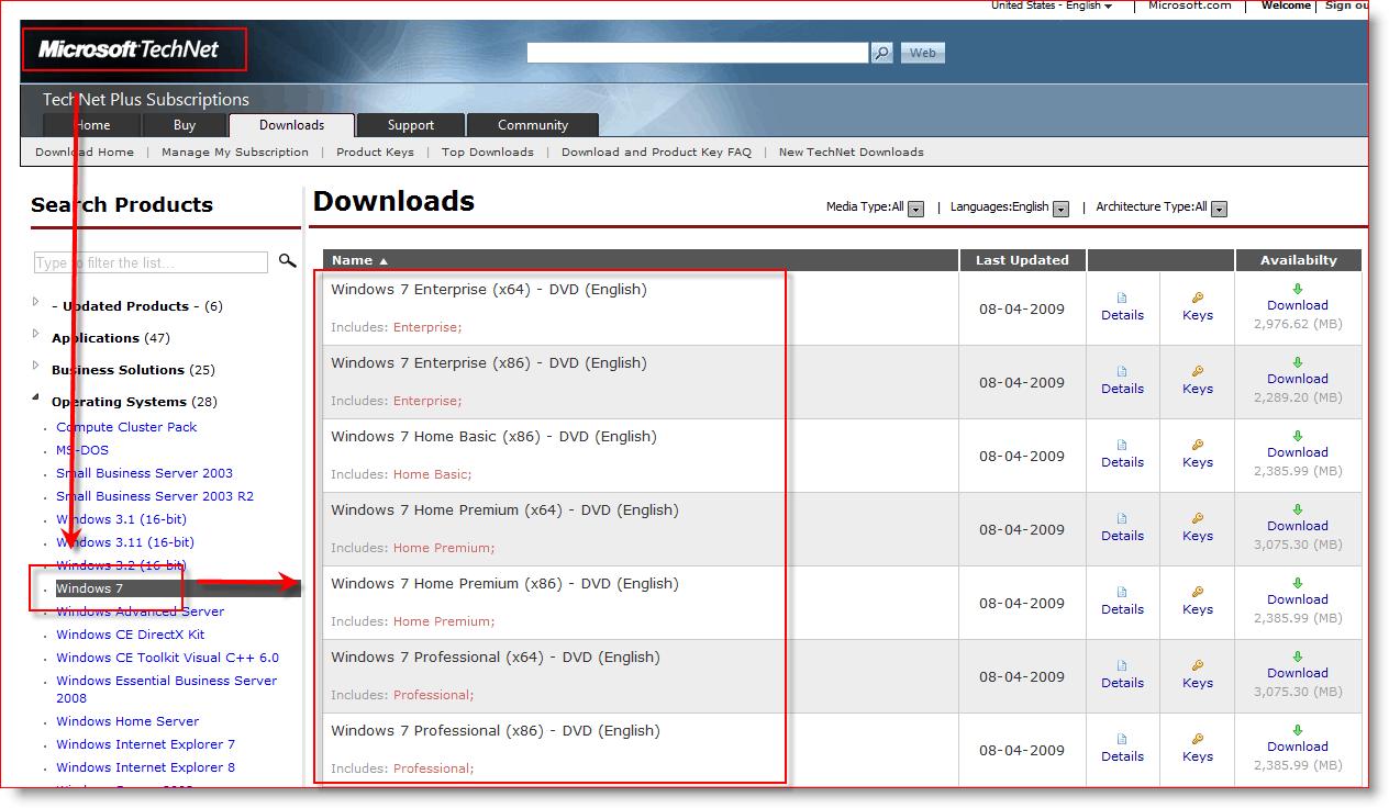 Msdn Downloads