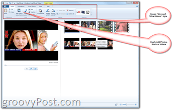 Microsoft Windows Live Movie Maker - How-To Make Home Movies