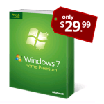 Windows 7 College Discount Logo