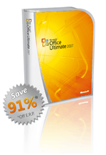 The Ultimate Steal - Office 2007 Ultimate Student Discount Deal List of Countries 91% Discount