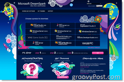 Microsoft DreamSpark Homepage - Free Software for College and High School Students