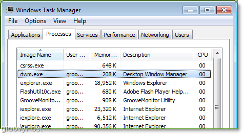 dwm.exe shows up in task manager, what is it?