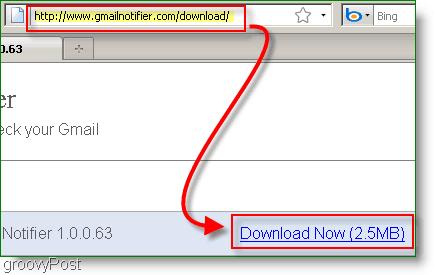 GMail Notifier Install