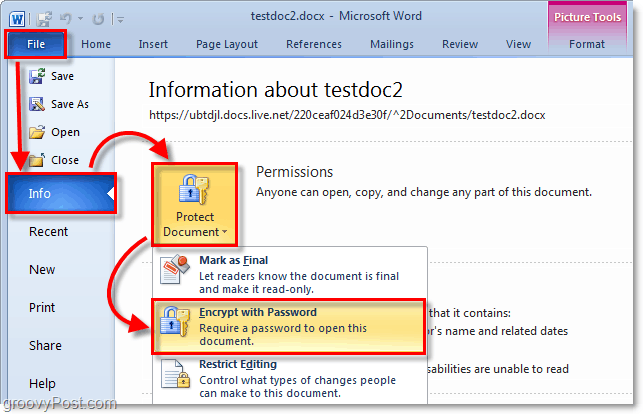 remove password protection from word document 2013