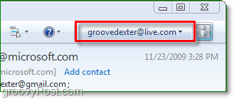 sign in to windows live through windows live mail