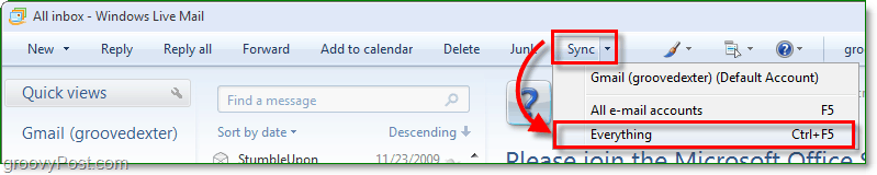 windows live sync