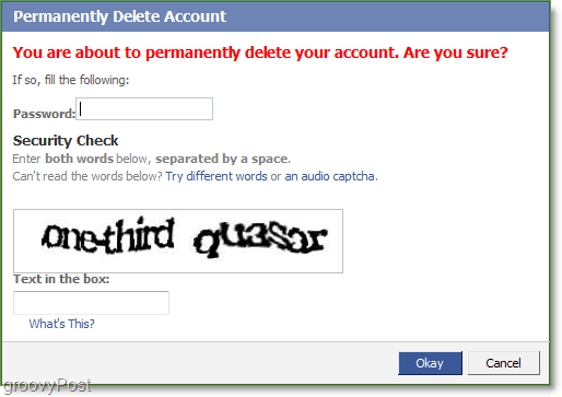 facebook accoun deletion again