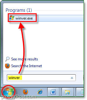 search for winver.exe to find your windows 7 version