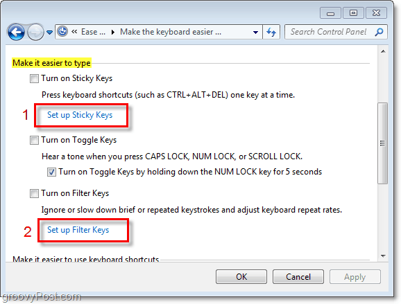 how to disable sticky keys popup windows 10