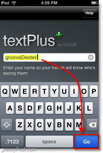 Use TextPlus to Send Free Text Messages Using An iPhone