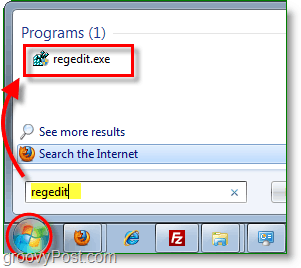 how to open regedit in windows 7