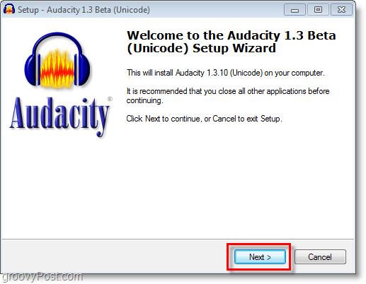 how to install free ringtone editor audacity