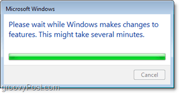 wait for windows 7 to turn off ie8