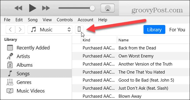 iTunes Device Icon