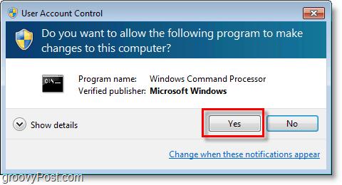 Windows 7 screenshot -go through cmd admin uac
