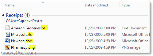 all done and now file extensions are visible in windows 7