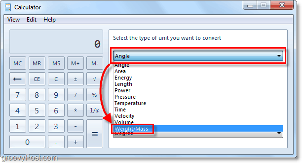using unit conversion offline from windows 7