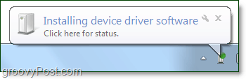 wait for windows 7 to finish installin your bluetooth device drivers
