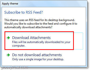 download all attachments directly to windows 7