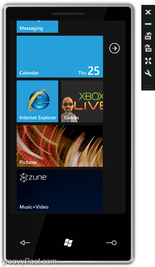 Test out ALL of the features of windows phone 7