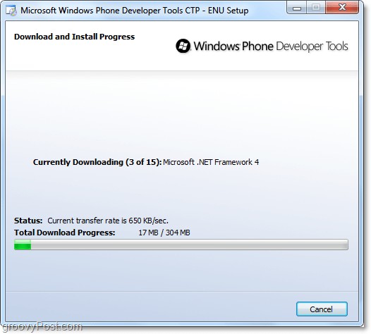 Download and Install Windows Phone Developer Tools